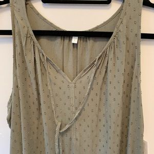 NWT Sleeveless top from Sonoma , Size L